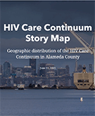 HIV Care Continuum Story Map cover image