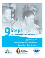 9 Steps to Breastfeeding Friendly Flyer Image